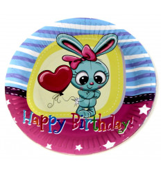 Popierinės gimtadienio lėkštės