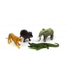 Žaislinių žvėrelių rinkinys