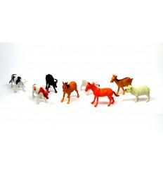 Žaislinių gyvūnų rinkinys