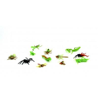 Žaislinių vabzdžiu rinkinys