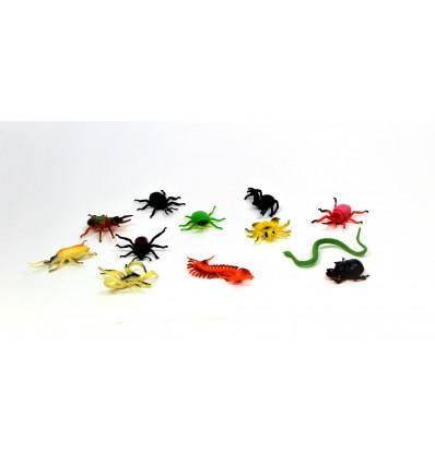 Žaislinių vabzdžių rinkinys