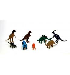 Žaislinių dinozaurų rinkinys