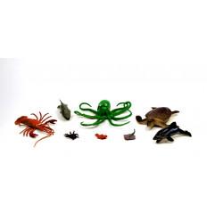 Žaislinių jūros gyvūnų rinkinys