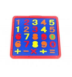 Piešimo lentelė su skaičiais