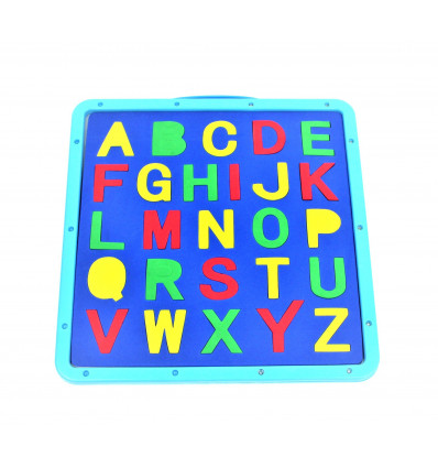 Piešimo lentelė su raidėmis