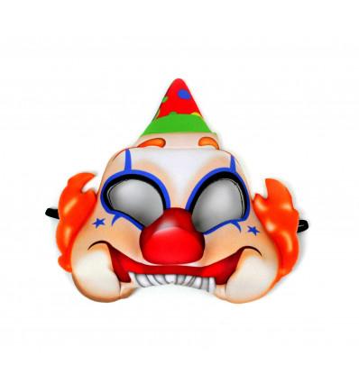Vakarėlio kaukė - klounas