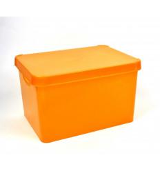 Plastikinė dėžė su dangčiu