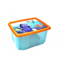 Plastikinė dėžė su dangčiu - KEEPEER