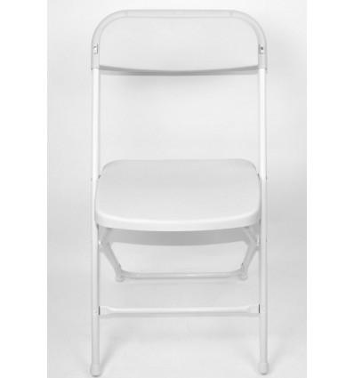 Plastikinė kėdė su atlošu