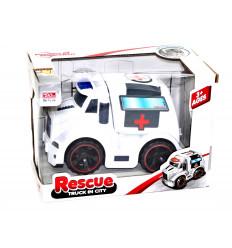 Žaislinis greitosios pagalbos automobilis