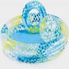 Pripučiamas baseinas + kamuolys + ratas - INTEX