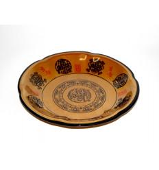 Keramikinė lėkštė - dubenėlis