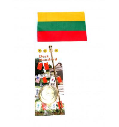 Metalinis stovelis su vėliavėle