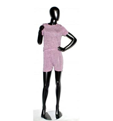 Moteriškas kostiumėlis su šortais