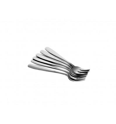 Metalinės desertinės šakutės