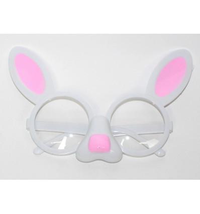 Vakarėlio akiniai - kiškis