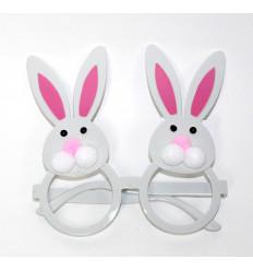Vakarėlio akiniai su kiškiu
