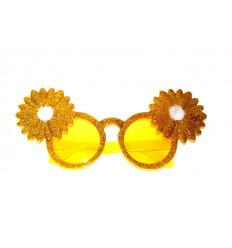 Vakarėlio akiniai su gėlėmis