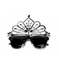 Vakarėlio akiniai su karūna