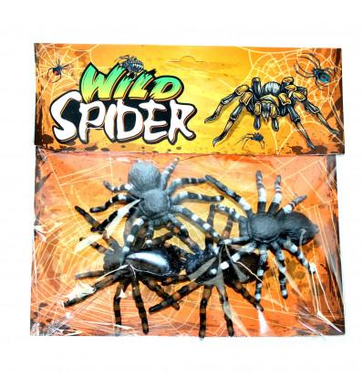 Vakarėlio dekoracija - keturi vorai
