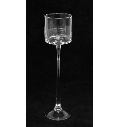 Stiklinė vaza - žvakidė