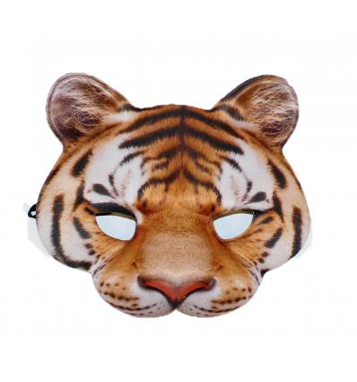 Vakarėlio kaukė - tigras
