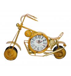 Metalinis laikrodis - motociklas