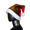 Kalėdinė kepurė su blizgučiais