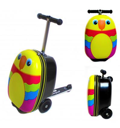 Vaikiškas paspirtukas - lagaminas