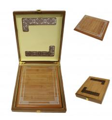Medinė lentelė padėkoms dėžutėje