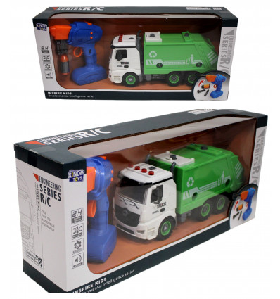 Žaislinis sunkvežimis konstruojamas BSR-10