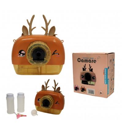 Žaislinis fotoaparatas su muilo burbulais 338-270b