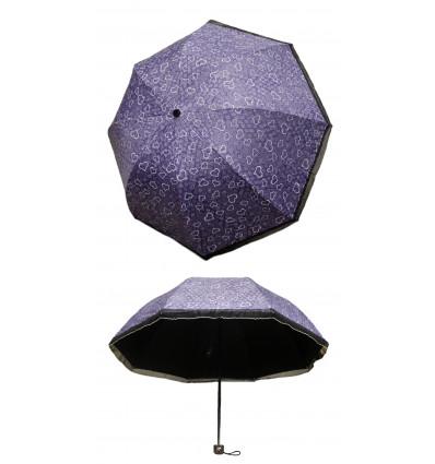 Moteriškas skėtis sulankstomas 028