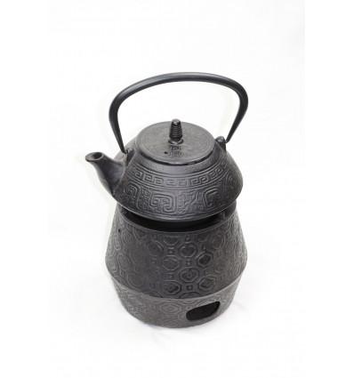 Ketaus arbatinukas su šildytuvu