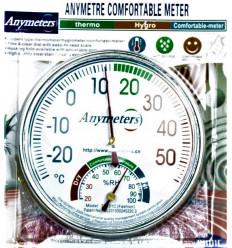 Termometras lauko ir vidaus