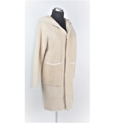 Moteriškas paltukas - kardiganas