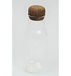 Stiklinis buteliukas su kamščiu