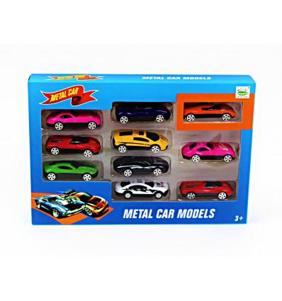 Žaislinių metalinių modeliukų rinkinys
