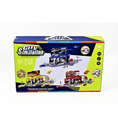 Žaislinė trasa su mašinomis