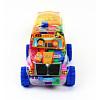 Žaislinės kaladėlės mašinos dėkle