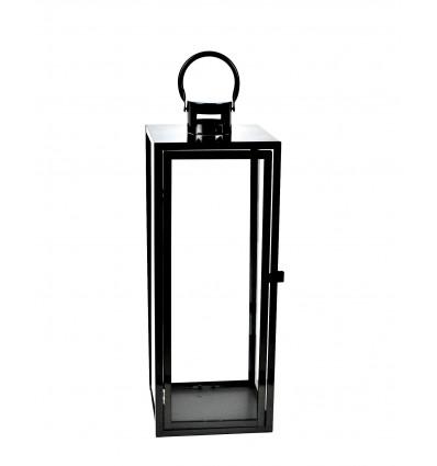 Metalinis lauko žibintas - žvakidė